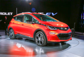 La conception d'une Chevrolet Bolt EV en vue